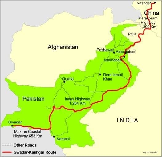 Why does China support Pakistan instead of India | China-Pakistan economic corridor