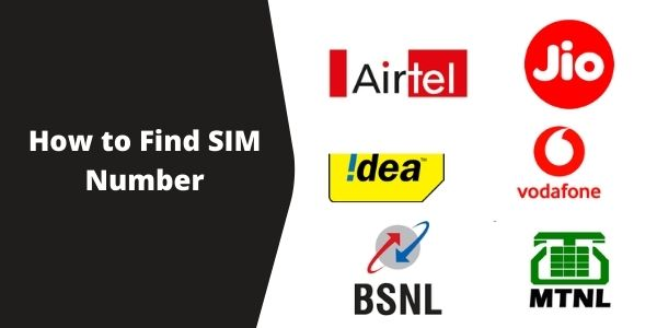 How to Find SIM Number