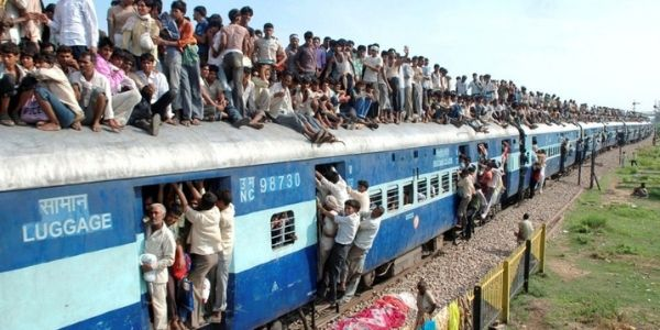 Packed Like Sardines In Indian Trains Facts About India